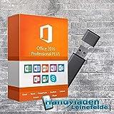 MS Office 2016 Professional Plus Lizenzschlüssel mit USB-Stick von Handyladen-Leinefelde 32/64 Bit Deutsche Version