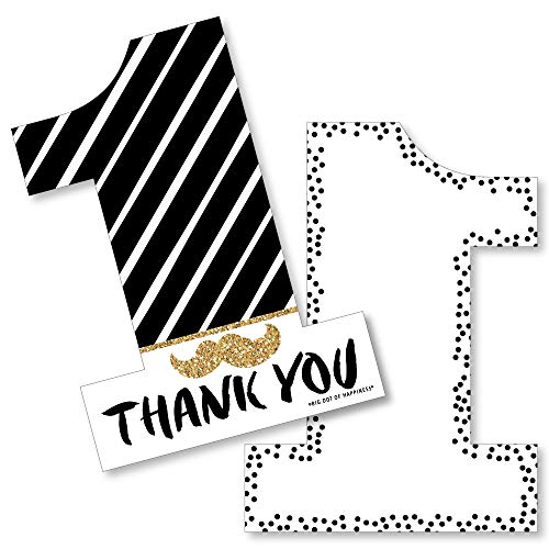 Mr Onederful Thank You Cards (Set of 12)