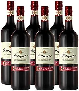 Rotkäppchen Qualitätswein Spätburgunder trocken 6 x 0.75 l