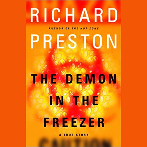 The Demon in the Freezer cover art