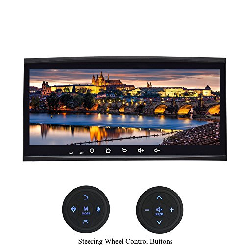 XISEDO Android 7.1 Autoradio Voiture Radio 8,8 Pouces Car Radio Système de Navigation GPS avec 1024 * 600 Écran Tactile pour Volkswagen Touareg/ T5 Multivan/Transporter Soutien Contrôle du Volant