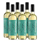 Marque Amazon - Compass Road Chardonnay, Vin de France 75 cl - Lot de 6