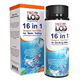 16 in 1 Drinking Water Test Kit Strips, 200 cnt. Home Water Quality Test for Tap...
