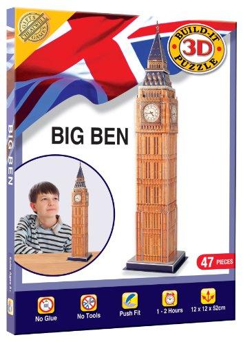 Games Big Ben   Puzzle en 3 Dimensiones