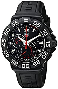 TAG Heuer Men's CAH1012.BT0717 Formula 1 Grande Date Chronograph Watch image
