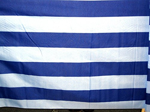 Windschutz Sichtschutz Strand Urlaub blau/weiß limited Edition aus Baumwolle 8,00m x 0,80m