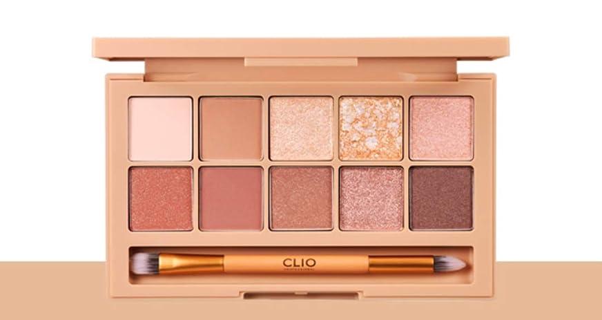 対応機会分注するCLIO Pro Eye Palette Brown Choux(simple&classic)告発色、高密着、告知の中独歩的な高クオリティアイシャドウパレット10color(並行輸入品)