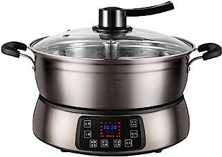 XXDTG Arroz automático de elevación eléctrico Inteligente Hot Pot Hogar Multi-función de Gran Capacidad Caliente eléctrica Olla de Cocina 4-6-10 Personas (Color : A)