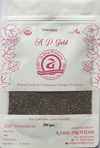 A ONE PROTIENS CHIA Seeds 500Gm