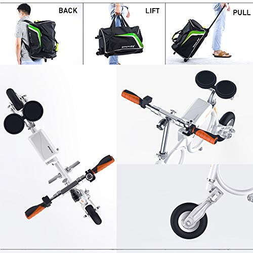 SUSU Mini Electric Folding Elektro-Scooter Elektro-Scooter Airwheel E3 Erwachsener Lithium Beweglicher Rucksack Electric Vehicle Roller Bearing Gewicht 0ver 100kg