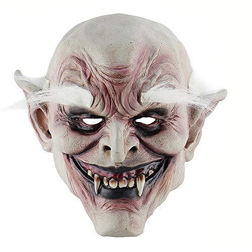 WangWDN Halloween Masker Latex Ghost Mask, volwassen Latex Hoofddeksel, Kinder Spelen Chucky Actie Figuren voor Masquerade Bar Party