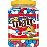 M&M's Red, White & Blue Mix Peanut Chocolate Candy Value Pack, 62 oz. ( 1 PACK )