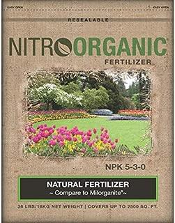 NitroOrganic Fertilizer 36 lb Bag