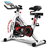 HARISON Exercise Bike Indoor Cycling Bike Belt Driven with iPad Holder 35LBS...