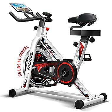 HARISON Exercise Bike Indoor Cycling Bike Belt...