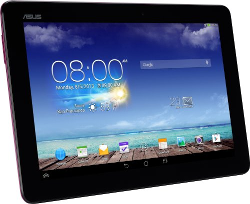 Asus Memopad 10 ME102A 25,40 cm (10 Zoll) Tablet PCs (ASUS RK101 CPU 1,6Ghz Quad-core, 1GB RAM, 16GB HDD, Mail400 MP4, Android Touchscreen) pink