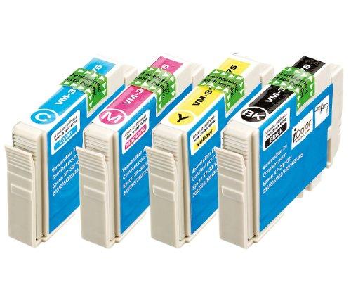 iColor Tinte für Drucker: ColorPack für EPSON (ersetzt T1806 / 18XL), BK/C/M/Y (Multipacks kompatible Druckerpatronen für Tintenstrahldrucker, Epson)