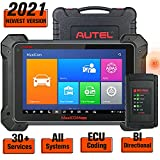 Autel MaxiCOM MK908 Diagnostic Tool, 2021 Newest Bi-Directional Scanner Wireless Active Test Scan Tool with Advanced ECU Coding All System Diagnosis 31+ Service MS906BT Updated Version