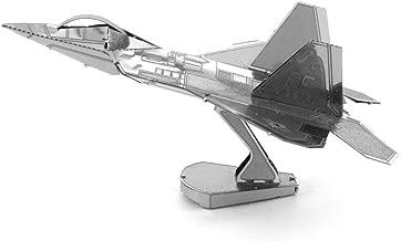 Fascinations Metal Earth F-22 Raptor Airplane 3D Metal Model Kit