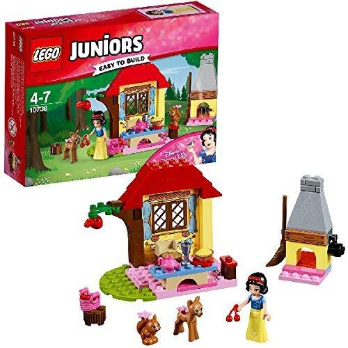 LEGO- Juniors La CaSetta nel Bosco di Biancaneve, Multicolore, 10738