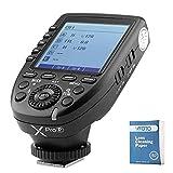 Godox Xpro-P TTL 2.4G Inalámbrico X Sistema Alta velocidad Flash Disparo con Grande LCD Pantalla Transmisor para Pentax Cameras K-1 KP K70 K50 645Z K-S2 K-3ii (xpro-p)