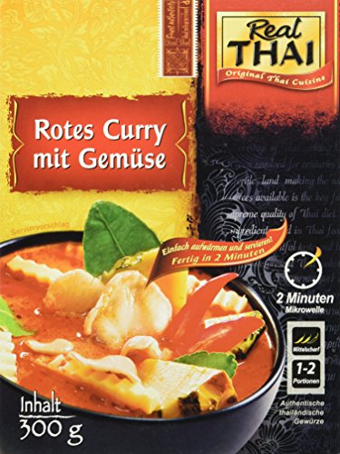 Real Thai Rotes Curry mit Gemüse (1 x 300 g)