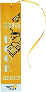 Amazon Pay Gift Card - Gift a book | Bookmarks - Certified Book Addict