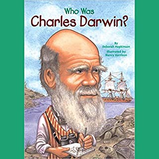 Who Was Charles Darwin? cover art