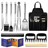 Veken BBQ Grill Accessories, Stainless Steel BBQ Tools Set for Men & Women Grilling Utensils Accessories with...