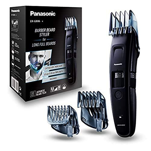 Las mejores recortadoras de barba: Panasonic ER-GB86-K503