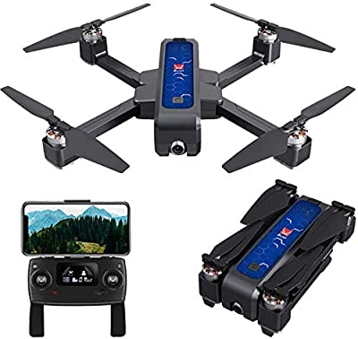 Drones with Camera,MJX B4W Bugs 4W RC Quadcopter - 2 Batteries Included -5G WiFi FPV GPS Brushless Foldable RC Drone with 2K HD Camera from Taotuo