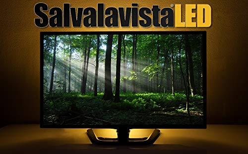 SALVALAVISTA LED BEGHELLI BACKLIGHT LUCE TELEVISIONE PROTEGGE GLI OCCHI PROTEZIONE TV DA SOVRATENSIONI/SOVRACCARICHI DI TENSIONE