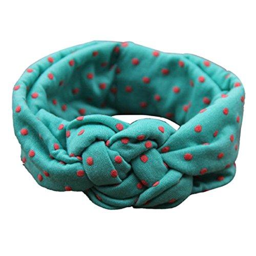 Tonsee® Nouveau mode Dot Cross enfants Weave Twist bandeau bébé accessoires pour cheveux