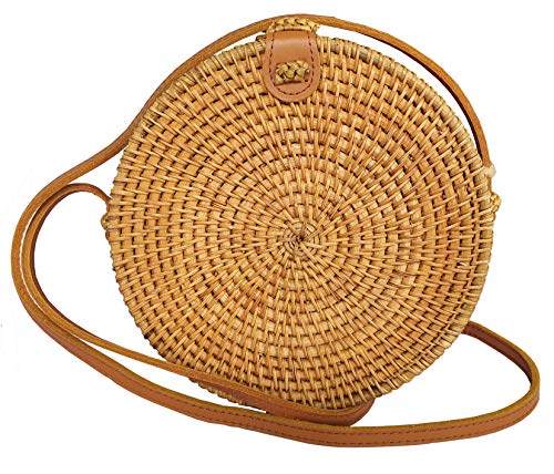 👜 GENUINE LEATHER STRAP & CLOSURE – These Made Terra crossbody wicker woven bali ata purses use genuine leather while others at the same price tag or even more expensive on the market use fake or synthetic leathers. 👜 NO BAD SMELL – Thanks to our lon...