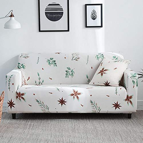 Funda de Sofá,Funda de sofá elástica con patrón impreso, funda de cojín universal de cobertura completa para todas las estaciones, funda de sillón antiincrustante para sala de estar, funda de protecc
