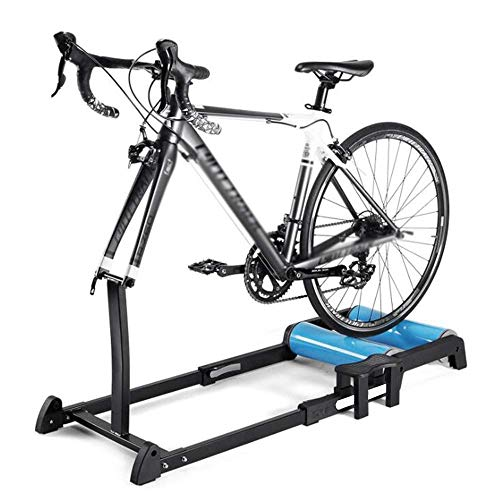 WYJW Bicicleta Turbo Trainer, Bike Roller Trainer - Bike Rollers - Bicicleta Interior Plegable Plegable Entrenador de Rodillos de Bicicleta Ajustable con Resistencia para MTB Road Bike