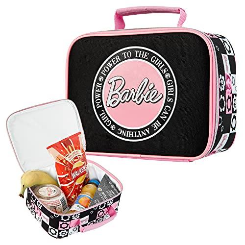 Barbie Bolsa Termica Infantil, Bolsa Termica Porta Alimentos Para Almuerzo Merienda, Regalo Niña