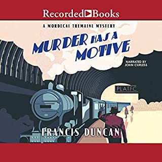 Murder Has a Motive audiobook cover art