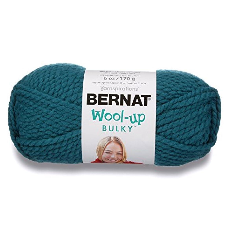 Bernat Wool-Up Bulky Yarn, 6 oz, Gauge 6 Super Bulky, Teal