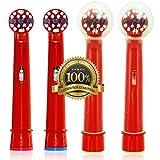 Dr. kao - Pack de 8 cabezales para cepillo de dientes eléctrico con 2...