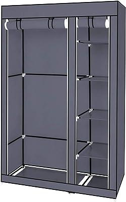 Amazon Com Alta Corner Wardrobe Closet Free Standing