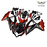NT FAIRING Orange Grey Injection Mold Fairing kits Fit for Suzuki 2008 2009 2010 GSXR 600 750 K8 08 09 10 GSX-R600 Aftermarket Painted ABS Plastic Motorcycle Bodywork