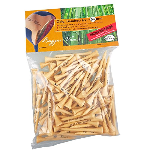 Bagger Vance Original Bambus Tees *** Für Eisen und Hölzer ***
