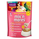 Halo Mix 'n Mores Freeze-Dried and Cage-Free  Salmon & Turkey Food for Pets, 6 oz.