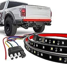 "CK Formula 60"" Single Row LED Tailgate Light Bar - 5 Functions: Reverse, Brake, Running, Turn Signal, Double Flash Light Strip for Trucks, 2935 SMD LED Chips, IP67 Waterproof, 12V, 1 Piece"