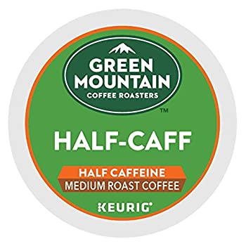 Green Mountain Coffee Roasters Half-Caff single serve K-Cup pods for Keurig brewers 96 Count