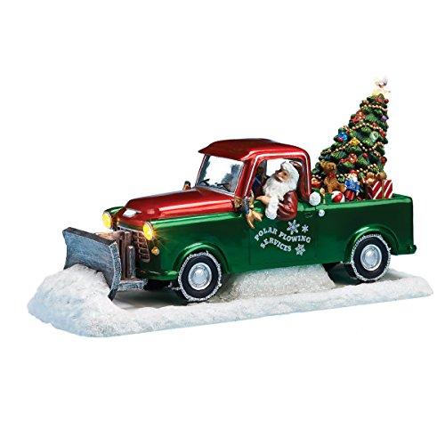 Diversiones Musical con Papá Noel conducir un antiguo nieve