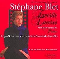 Favorite Encores by Stephane Blet