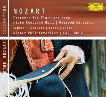 モーツァルト:フルート、フルートとハープ、オーボエのための協奏曲