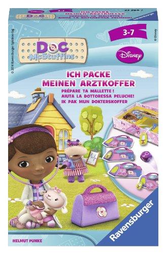 Ravensburger 23384 - Disney Doc McStuffins: Ich packe Meinen Arztkoffer - Mitbringspiel